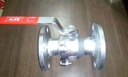 BEW Flanged End CS Ball Valve, For Industrial, Size: 15mm To 300mm