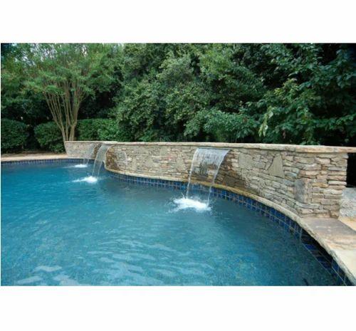 Swimming Pool Fountain, स्विमिंग पूल ...