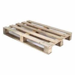 Brown Pine Wood Pallet