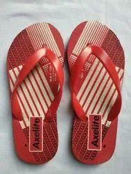 Rubber Hawai Slippers Printed Slipper Mens, Size: 6 Yo 10