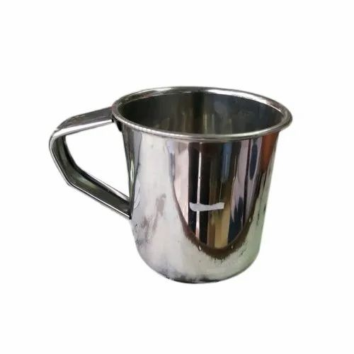 Stainless Steel Water Mug, Material Grade: Ss 304, Capacity: 200 Ml