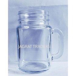 Glass Jar With Handle