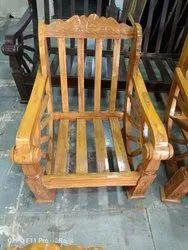 Sagwan Natural Sofa Chair