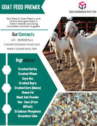 Goat Feed at Best Price in India