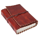 Handmade Leather Notebook Diary