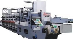 Multi Color Flexo Printing Machine - Flexographic Printing Press