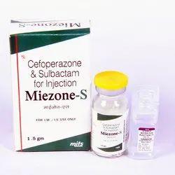 Cefoperazone 1000 mg & Sulbactam 500 mg injection