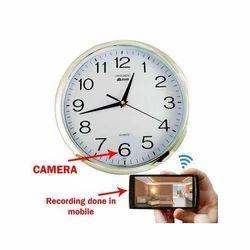 Clock Wireless Hidden Camera