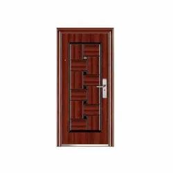 Metal Mild Steel Pelicano Steel Security Door, Size: Height 2050 mm, Width 960 mm