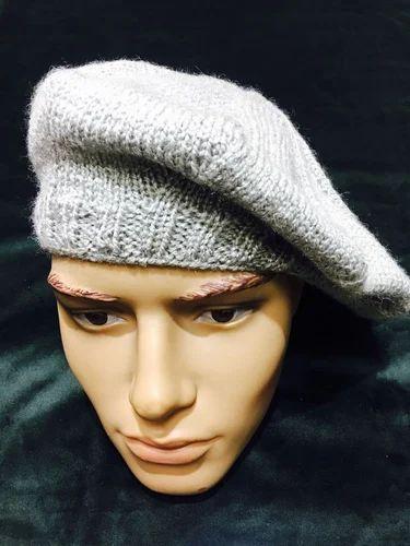 6bb71441 Woolen Beret at Rs 799 | Wool Beret Cap, ऊनी बैरेट टोपी ...