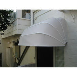 White Window Awning Canopy