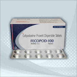 Cefpodoxime 100mg Tablet