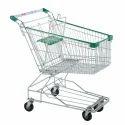 Stainless Steel Supermarket Shopping Trolley 100 Liter