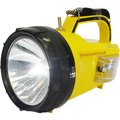 Diamond LED Waterproof Rechargeable Torch Light At Rs 850