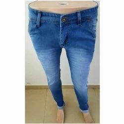 Denim Blue Ladies Regular Fit Jeans