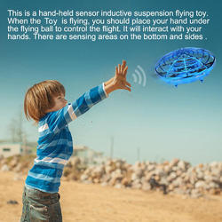 Mini RC Flying Infrared Induction Funny Toy Helicopter
