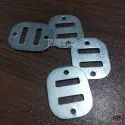 8mm Mild Steel Square Buckles Zinc