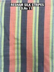 Chex Silk Printed Fabrics
