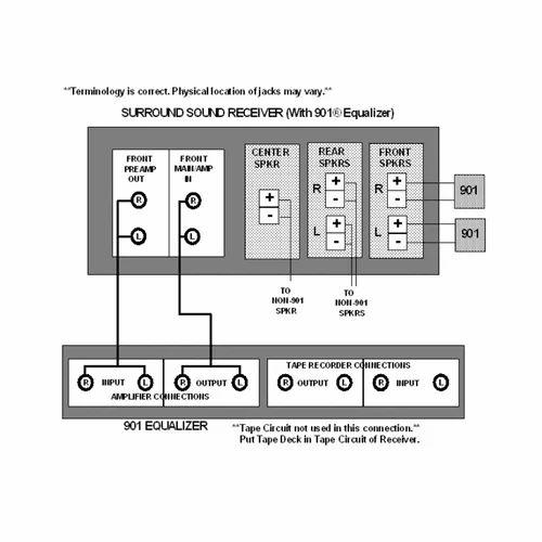 bose 901 series vi black ash loudspeaker system
