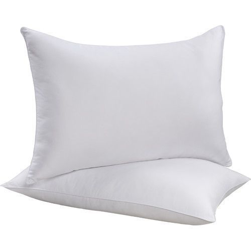 White Plain Plain Polyfill Cushion