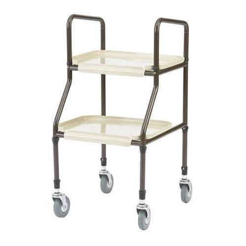 Rubber Tray Hand Trolley