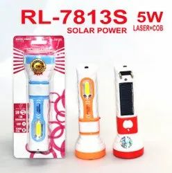 RL-7813S Rocklight Solar Rechargeable LED Torch