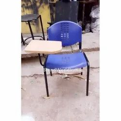 Plastic Writing Pad Chairs