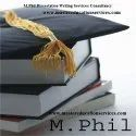 Dissertation Writing Services For M.Phil
