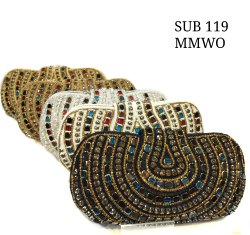 Embroidered Ladies Clutch Bag SUB119