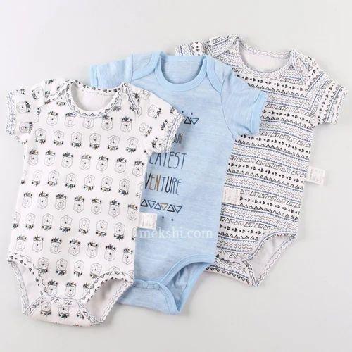 b4f03f5ced2c5 Infant Cotton Babysuit, Age: 0-3 Months, Rs 265 /piece, Mekshi ...