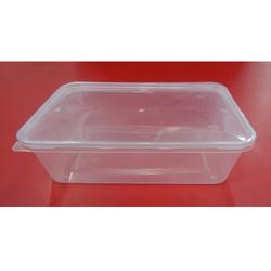 Transparent Plastic Containers