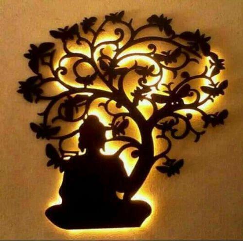 Lord Buddha Under Tree Wall Hanging