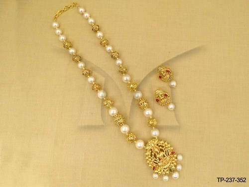 Temple South Indian Designer Pendant Set
