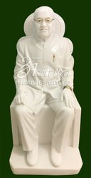 White Marble Human Statue