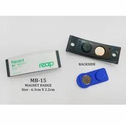 Magnet Name Badges Plastic