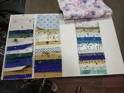 Linen printed fabrics
