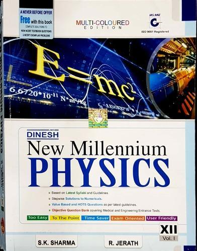 Dinesh New Millennium Physics (Class 12) Books at Rs 1431 /set