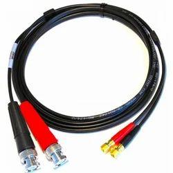 BNC to Microdot Dual cable 6 feet RG 174