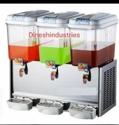 Three tank juice dispenser Machine