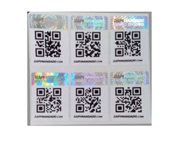 Holograms With QR Code