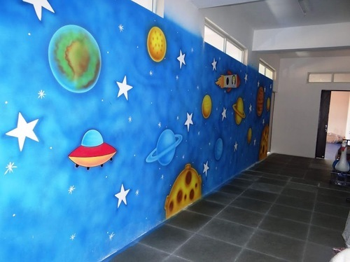 Fresh Wall Painting Ideas For School
