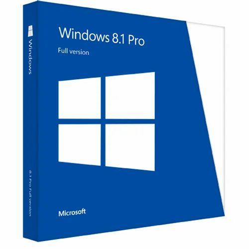 Microsoft Windows 8 1 Pro Retail Seal Box Pack Both32/64 Bit
