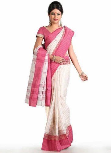 dc4a8e7d11 Light Pink Summer Cotton Saree at Rs 400 /piece | Cotton Sarees | ID ...