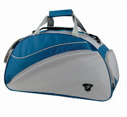 Cotton Fabric Blue & Gray Travel Bags, Size/Dimension: 20x25 Inch