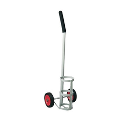 Coated Oxygen Cylinder Trolley