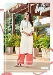 Mittoo Panghat Ladies Palazzo Suit