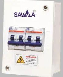 Single Door Mild Steel SAVYA-Metal Enclosure MCB Distribution Box, IP Rating: IP44, Model Name/Number: SMB1