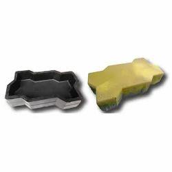 Sandy Zigzag Paver Blocks Rubber Mould