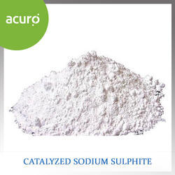 Catalyzed Sodium Sulphite