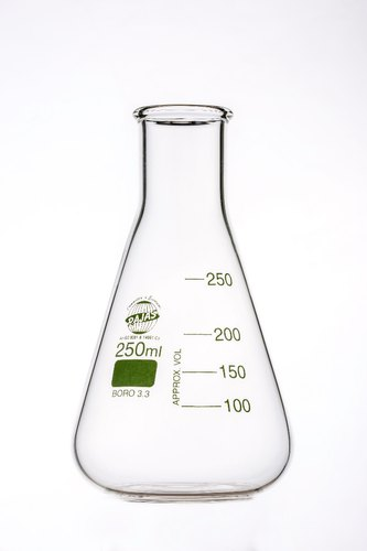 Erlenmeyer Flasks Plain Neck